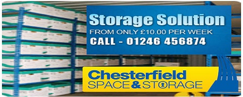 storage space at Sheffield
