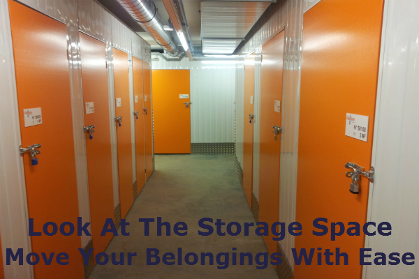 Look At The Storage Space And Move Your Belongings With Ease