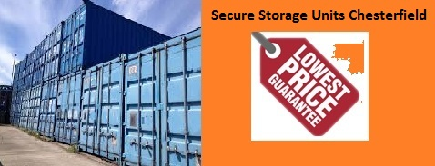Secure Storage Units Chesterfield