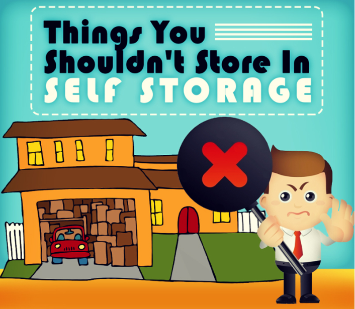 Things You Shouldn't Store In Self Storage